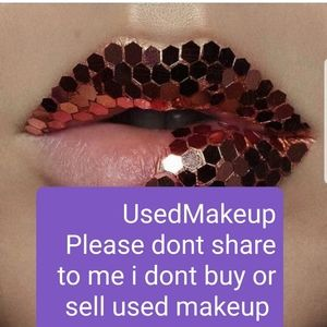 Please Dont Share used Makeup to me